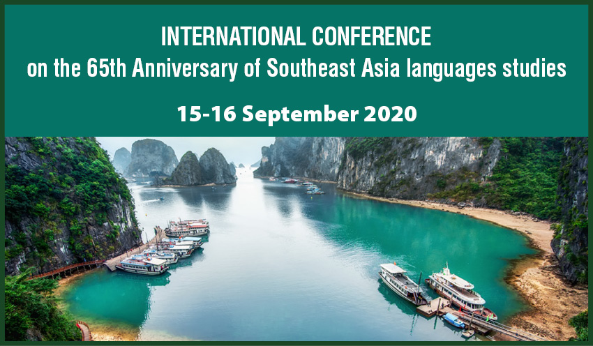 International conference on the 65th Anniversary of Southeast Asia languages studies