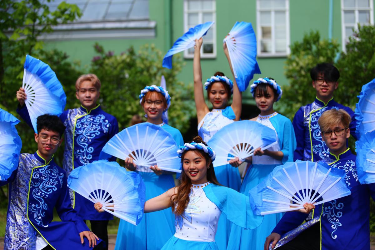 В СПбГУ прошли памятные мероприятия в честь годовщины со дня рождения Хо Ши Мина