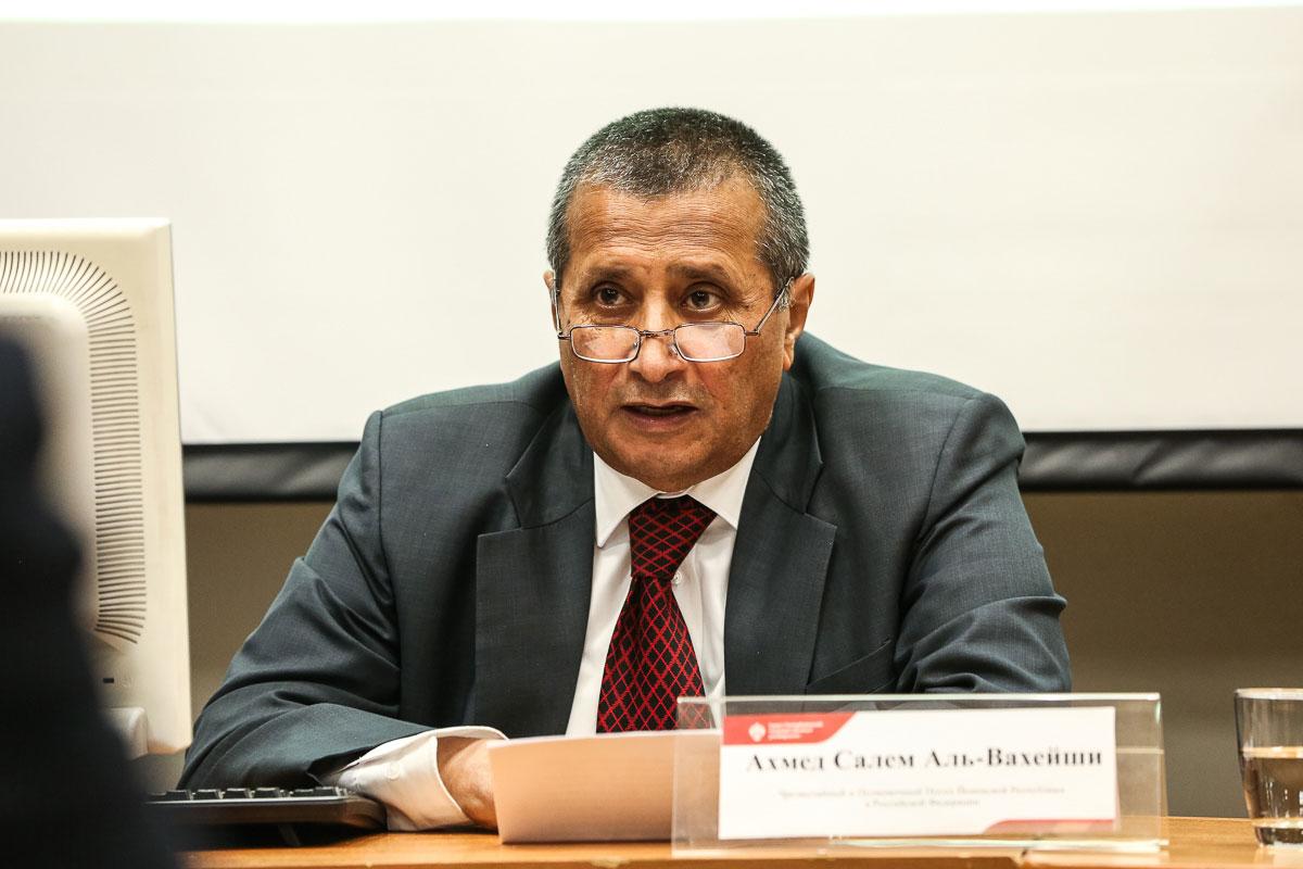 Ambassador of the Republic of Yemen delivers public lectures at St Petersburg University