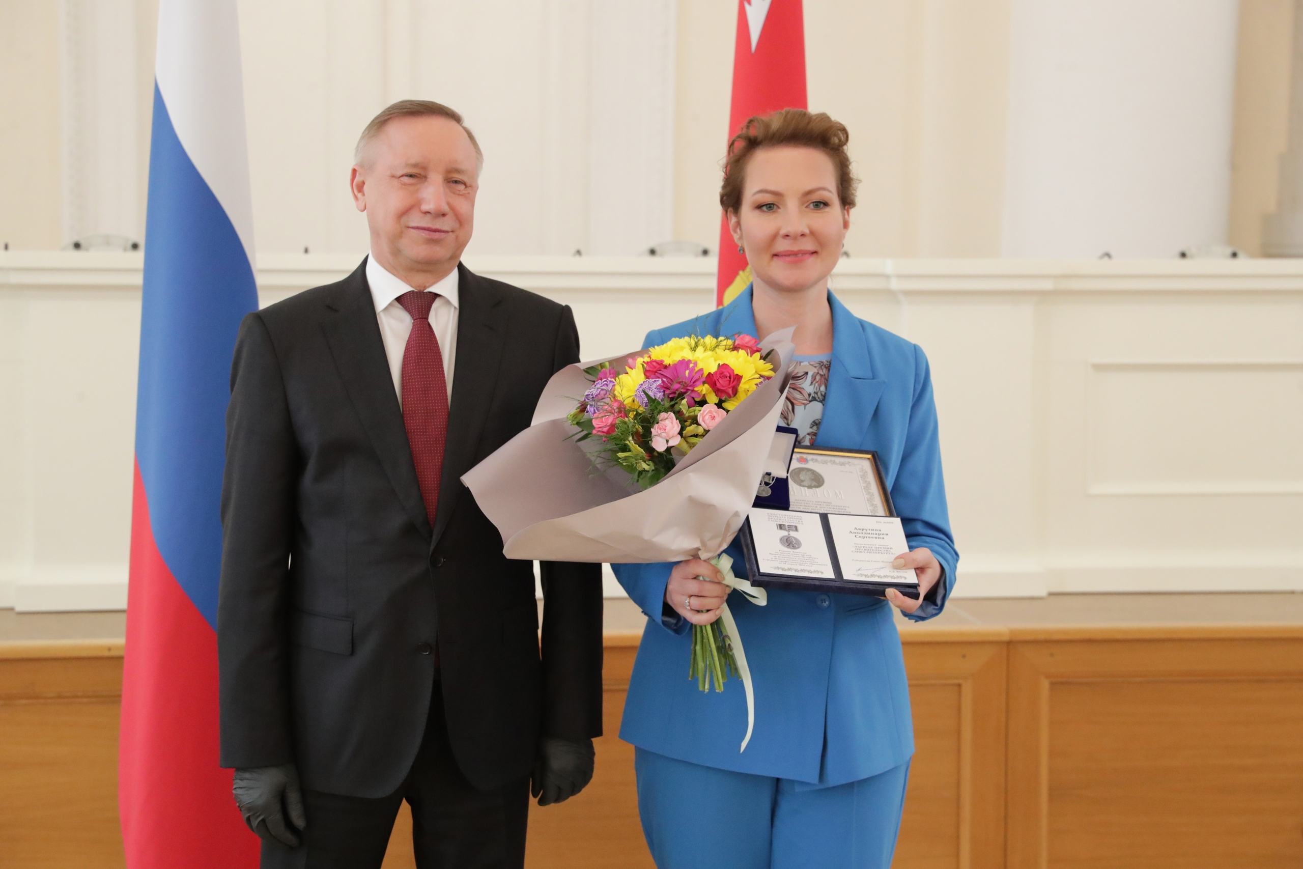 Аполлинария Аврутина стала лауреатом Премии правительства Санкт-Петербурга