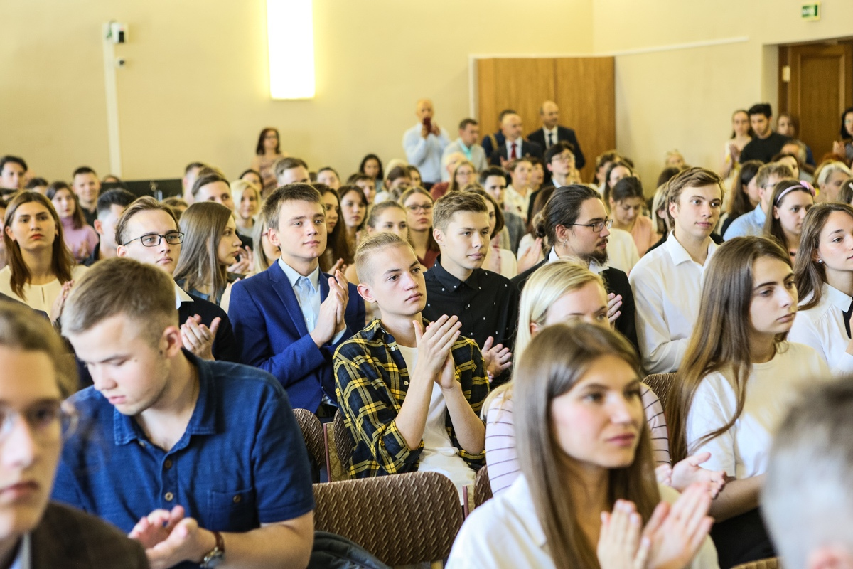 Собрания первокурсников  на кафедрах 31 августа