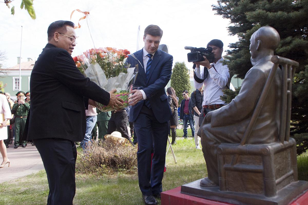 В СПбГУ отметили 127-ю годовщину со дня рождения Хо Ши Мина