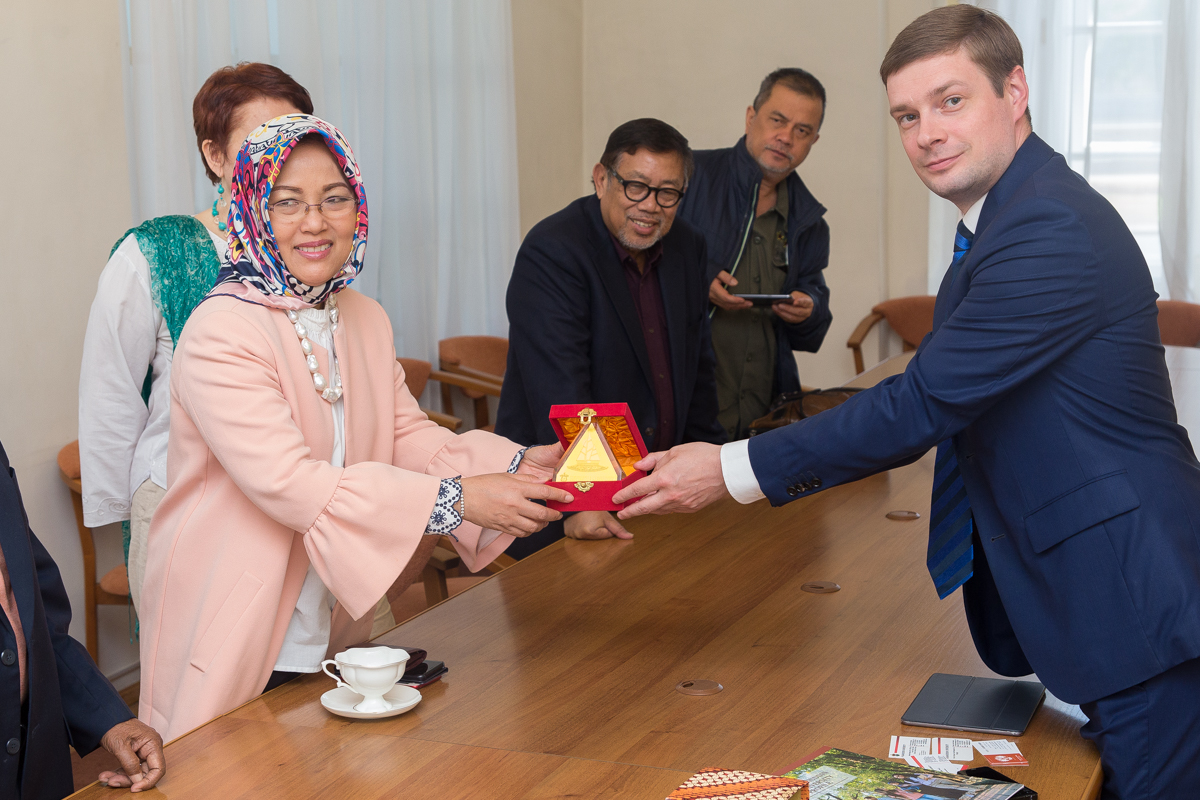 St Petersburg University cementing its ties with Indonesia