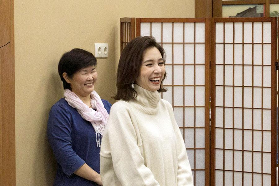 Студенты СПбГУ встретились с японской певицей Мэй Джей