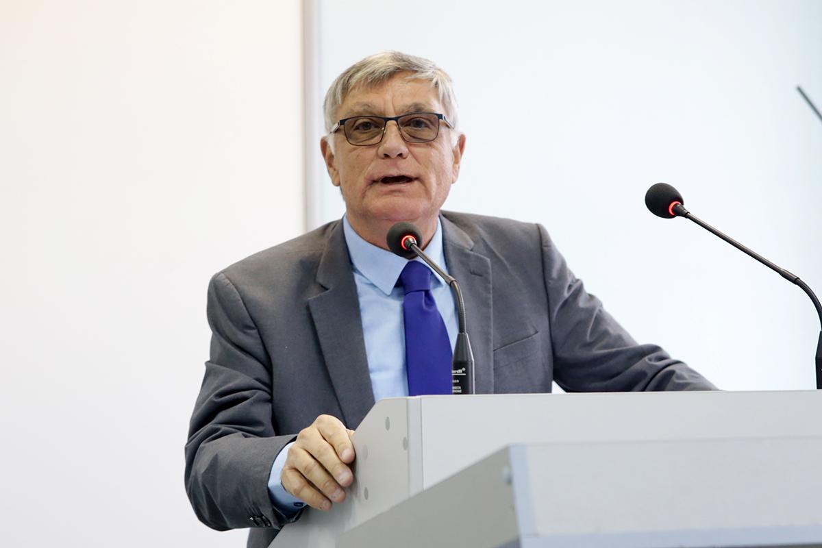 В СПбГУ выступил израильский дипломат Хаим Корен