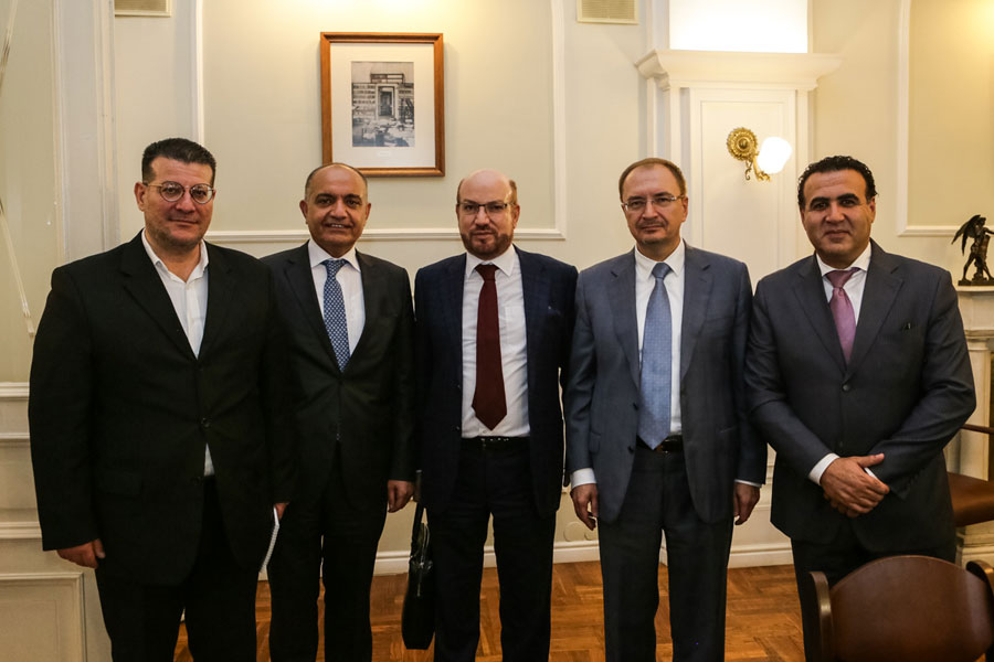 Санкт-Петербургский университет посетил посол Иордании