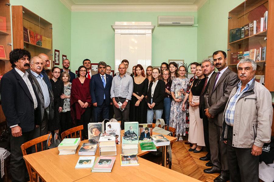 Посол Афганистана впервые посетил СПбГУ