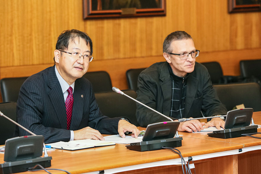 St Petersburg University and Shinshu University have signed a framework cooperation agreement