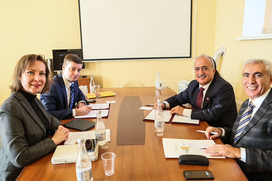 St Petersburg University has partnered up with Atatürk University