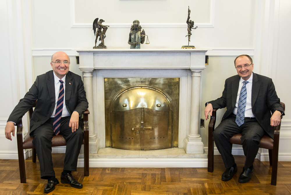 The Ambassador of the Republic of Turkey has met with the Rector of St Petersburg University