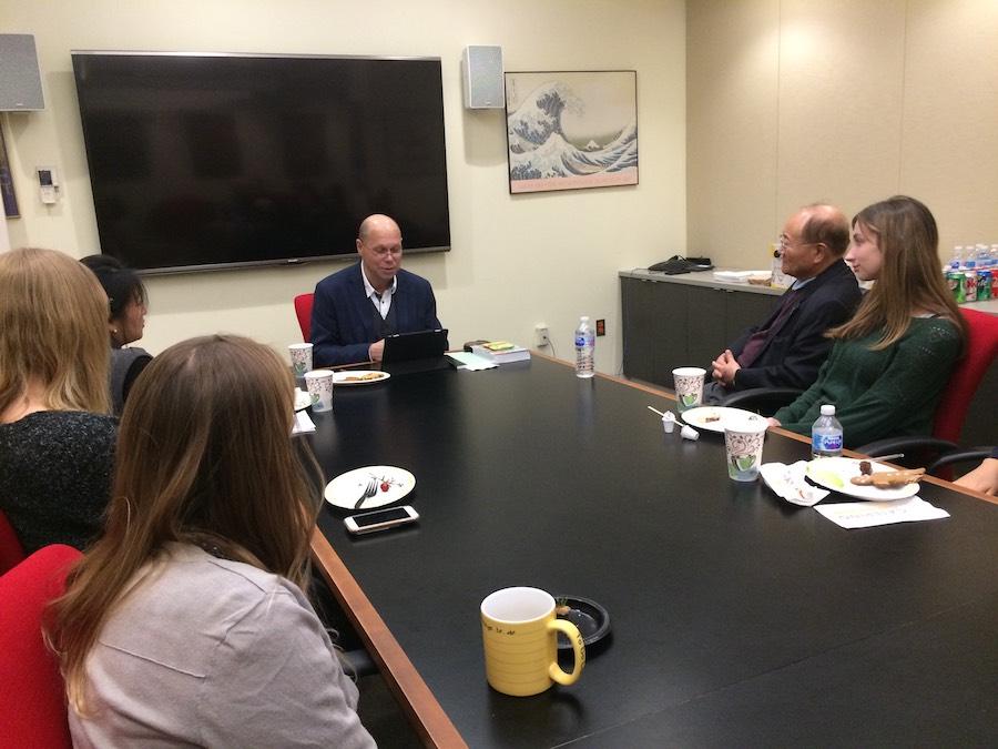Профессор Курбанов выступил с лекцией в университете Джорджа Вашингтона