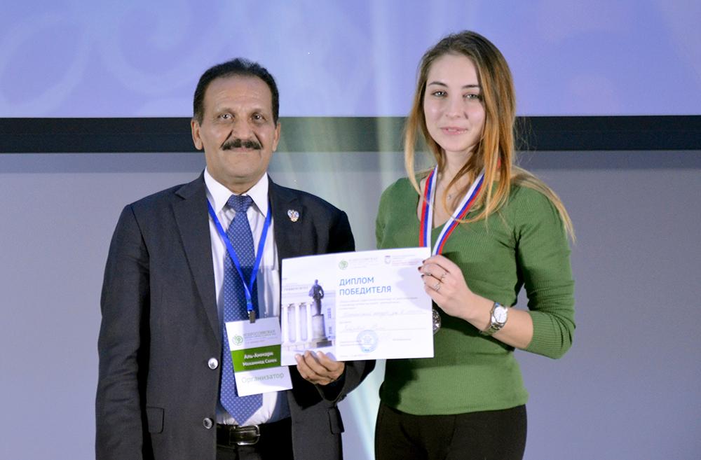 Студентка СПбГУ - призёр Всероссийской студенческой олимпиады по арабскому языку