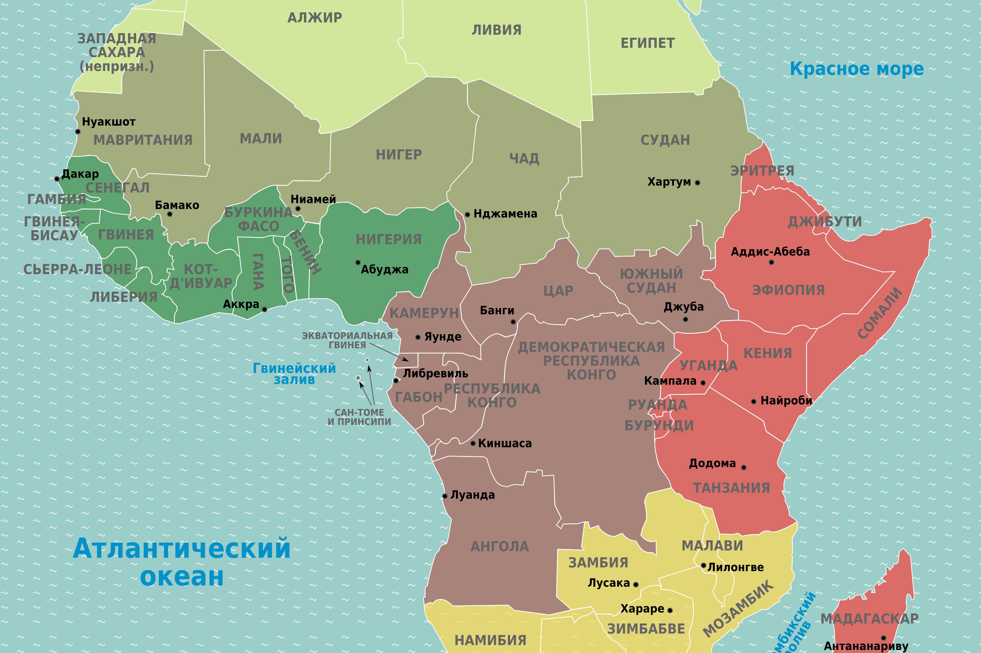 Александр Желтов: границы Африки были проведены по линейке
