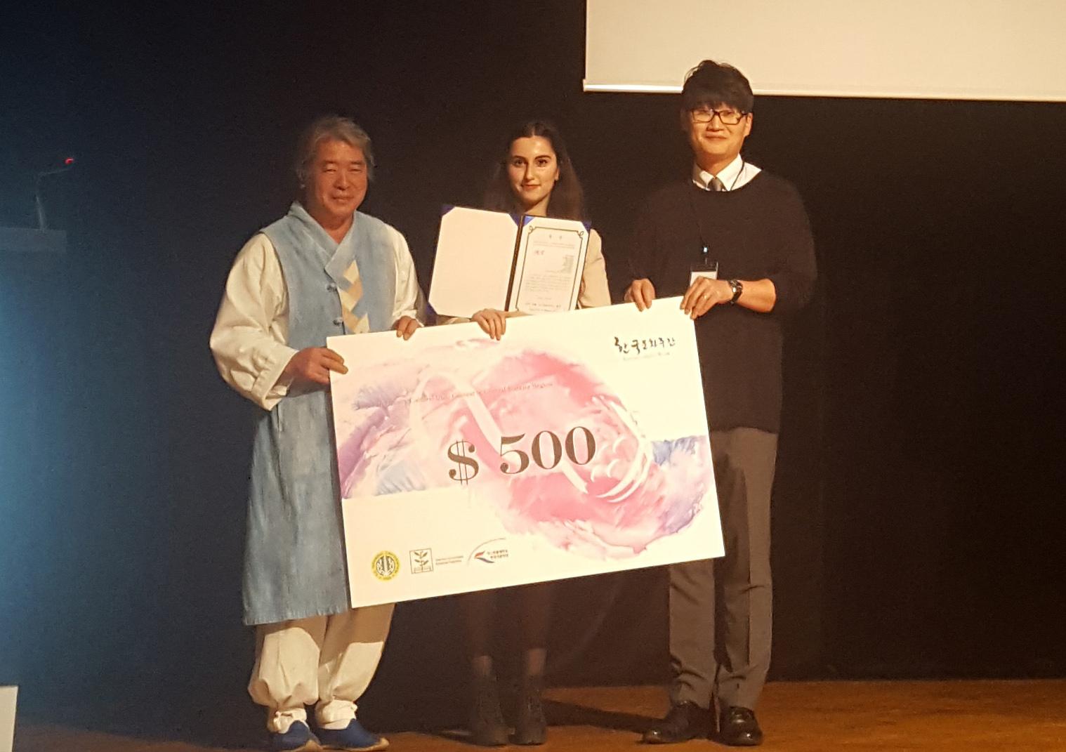 Наши студенты – победители международного конкурса видеороликов о культуре Кореи