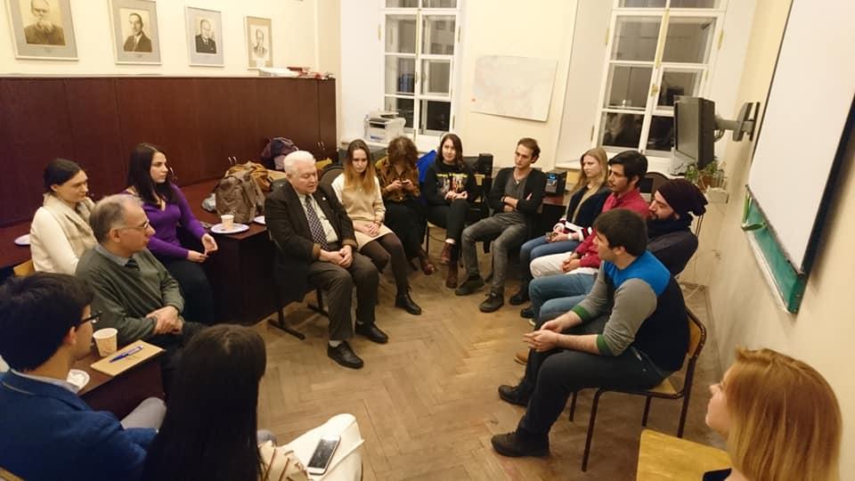 16 декабря - выездное заседание разговорного турецого клуба