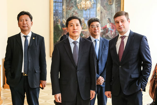 Vice Minister of Education of the People's Republic of China has visited the University