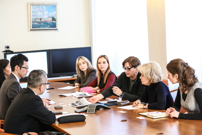 St Petersburg University establishes cooperation with representatives of Japanese business