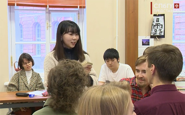 В  СПбГУ прошли встречи с обучающимися японских вузов