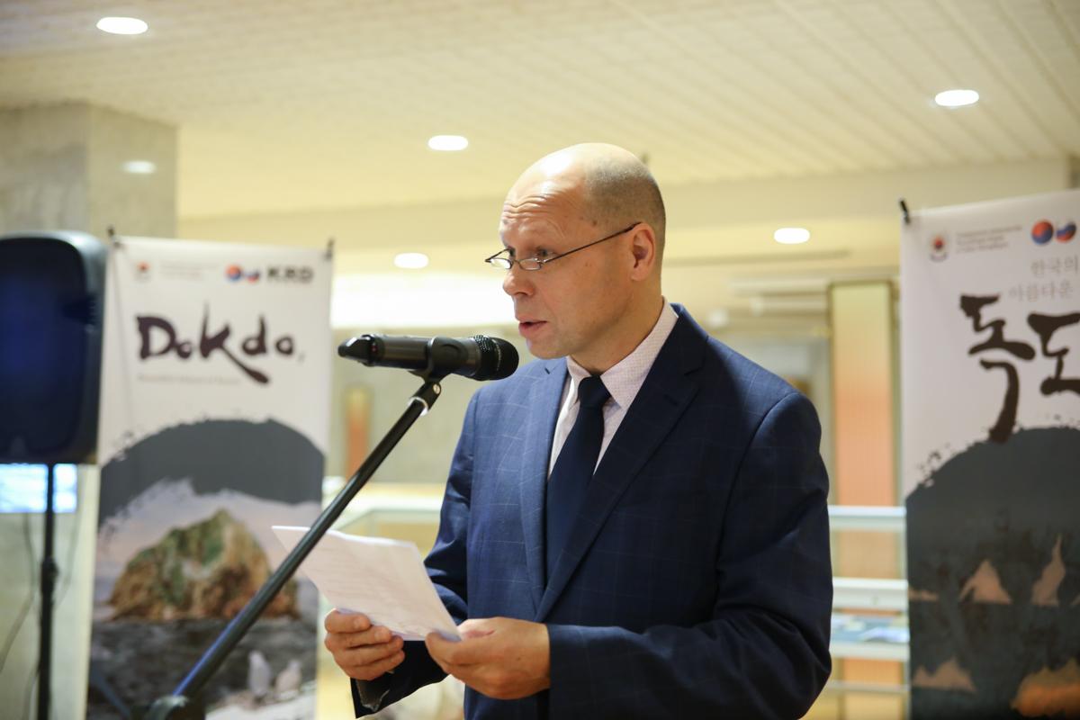 Профессор Сергей Курбанов принял участие в открытии выставки «Окно в Корею. Красота островов»